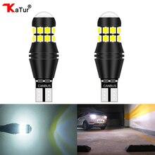 Katur 2 шт T15 T16 W16W светодиодный обратный лампочки 920 921 912 Canbus ОШИБОК СВЕТОДИОДНЫЙ Резервного копирования стояночные DC12V высокий свет 3030 SMD