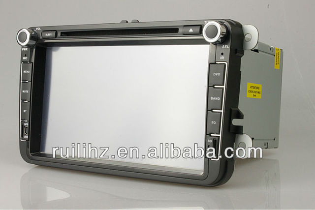 VW PASSAT NMS  Car DVD  Radio FM  2 din  8 inch Universal  Made in China Free 4GB memory Card Free map