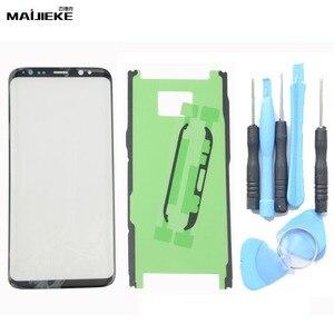 Image 1 - Lente exterior de Panel táctil para Samsung Galaxy Note 10 plus S8 Plus S9 Plus S10 plus S10 S10e Note 9 8, repuesto de cristal frontal