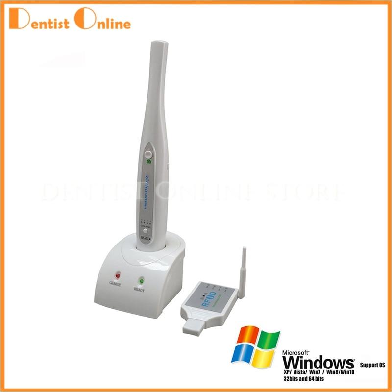 MD810UW USB Connessione Wireless Intraorale Intra-orale Fotocamera Sony CCD 2.0 Mega Pixel di Trasporto Libero