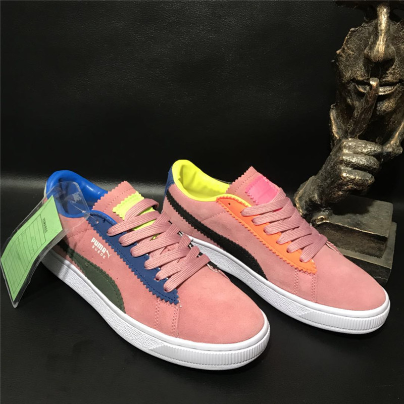 2018 New Arrival Puma Sample Suede by Michael Lau Sneaker Badminton Shoes size36-40 new avengers by brian michael bendis volume 4 avx