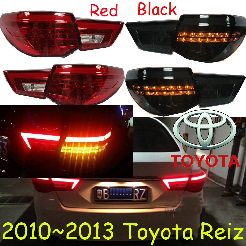 car-styling,Reiz Taillight,Mark X,2010~2013,led,Free ship!4pcs/set,Reiz fog light;car-covers,Reiz tail lamp;MarkX car styling golf6 taillight 2011 2013 led free ship 4pcs golf6 fog light car covers golf7 tail lamp touareg gol golf 6