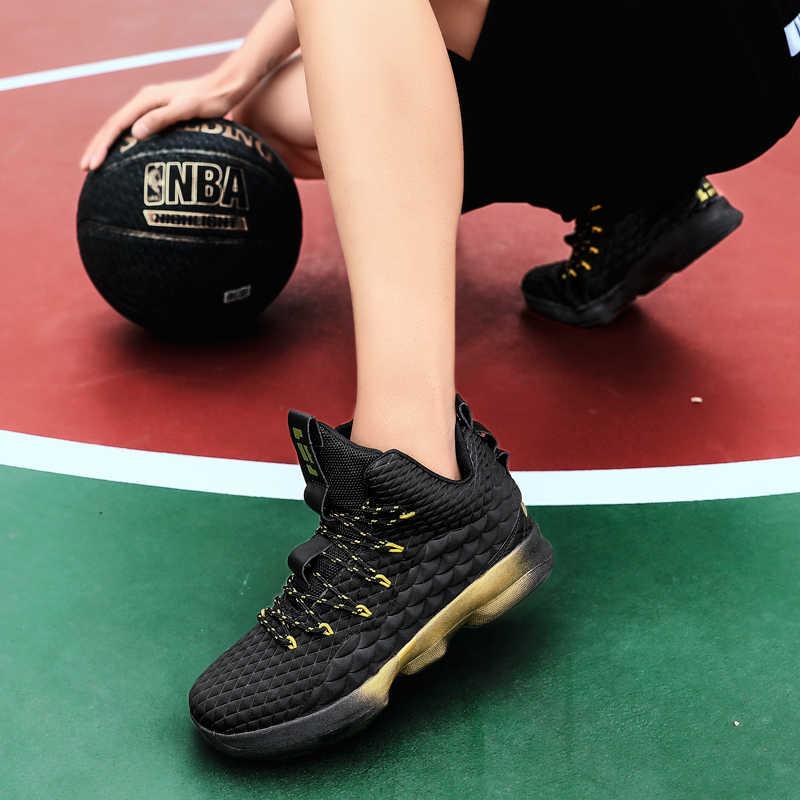 مريحة شبكة حذاء كرة السلة ، تنفس عدم الانزلاق حذاء كرة السلة ، مقاومة للاهتراء و للطي حذاء كرة السلة