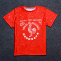 3d печать красная курица дворец thrasher страх божий бренд одежды bape громила yeezy kanye west хип-хоп майка мужчины homme