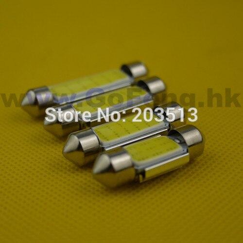 50pcs/lot wholesale car led auto light C5W Festoon cob 9 chips 31mm car led FREE SHIPPING