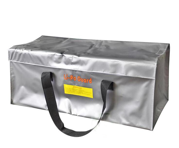 New Arrival Fireproof RC LiPo Battery Safety Bag Safe Guard Realacc Fire Retardant Lipo Battery Bag 640x250x250mm With Handle cannon safe h4 h1hec 13 home guard series safe