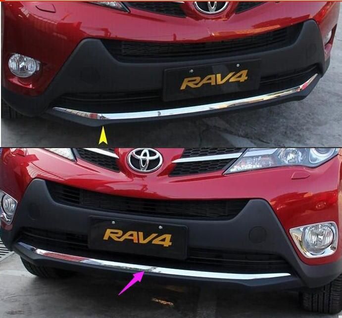 For Toyota  AV4 2013 2014 ABS Front Grill Grille Bumper Molding Cover Trim dali epicon 2 black high gloss