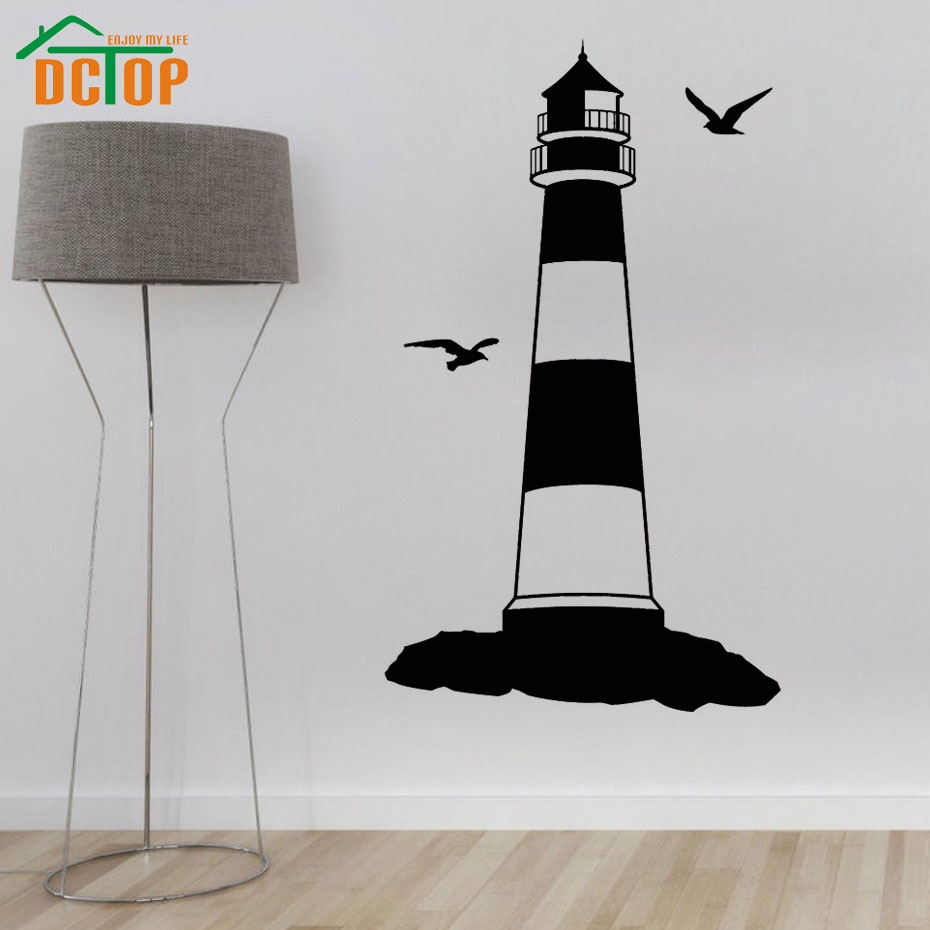 Lighthouse Bedroom Decor Popular Lighthouse Wall Stickers Buy Cheap Lighthouse Wall