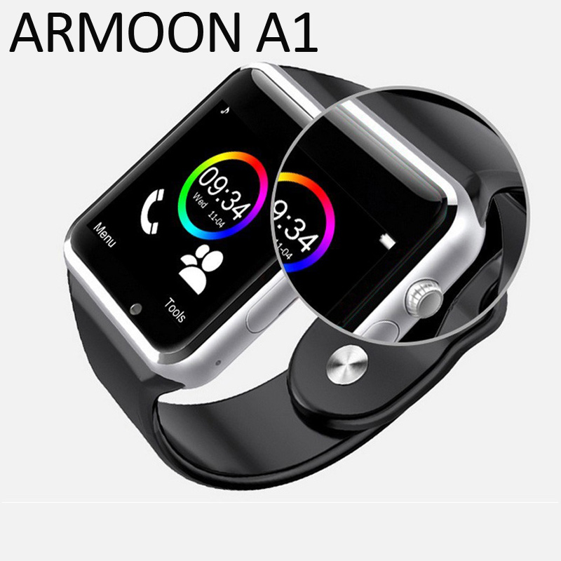 Smart Watch A1 Bluetooth WristWatch With TF SIM Card Sport Pedometer Call Camera Smartwatch for Android Phone pk mi band 2 3 F1