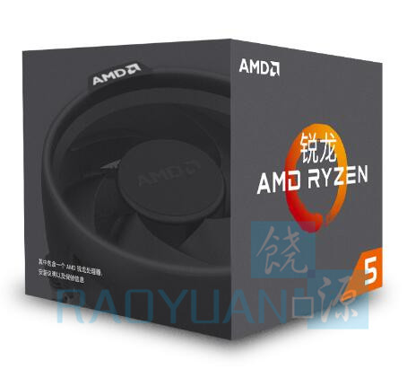 New AMD Ryzen 5 1400 R5 1400 3.2 GHz Quad-Core CPU Processor YD1400BBM4KAE Socket AM4 with cooling cooler fan(China)
