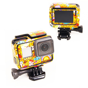 Image 4 - New Product For Gopro Hero 5 Hero 6 Hero 7 stickers For Go Pro 5/6 Sport Camera Hero5 Hero6/7 Protector Case Skin