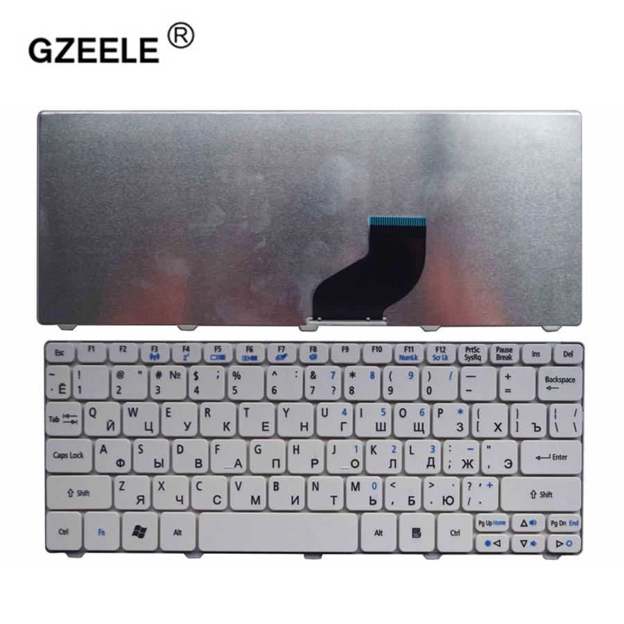 GZEELE RU NEW Laptop Keyboard For Packard Bell Dot SE SE2 SE3 S/E E2 E3 ME69BMP Replacement Keyboards RU