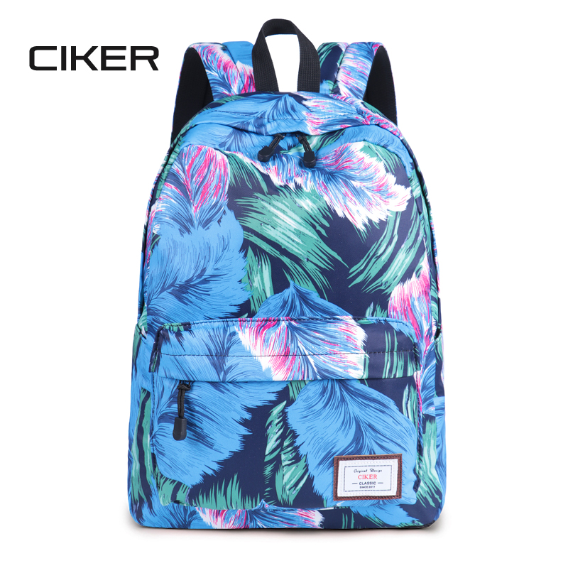 CIKER Hot waterproof women backpack cute fashion Flamingo printing backpacks  for teenagers womens school bags mochilas rucksack b0385015f8bd1