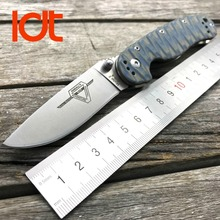 LDT RAT Model 2 Folding Knife AUS-8 Blade G10 Handle Tactical Knife Hunting Camping Outdoor Knives Outdoor Survival EDC Tools