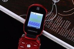 Image 5 - Автомобильный телефон раскладушка NEWMIND F15, 1,8 дюйма, с двумя Sim картами