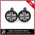 Brand New Black Union Jack style ABS Plastic UV Protected Door Lock Button for mini cooper R55 R56 R57 R59 R60 F56 (2 Pcs/Set)