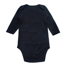 Baby Bodysuit Newborn Babies Clothes Long Sleeve Black Unisex 3 6 9 12 18 24 Mon