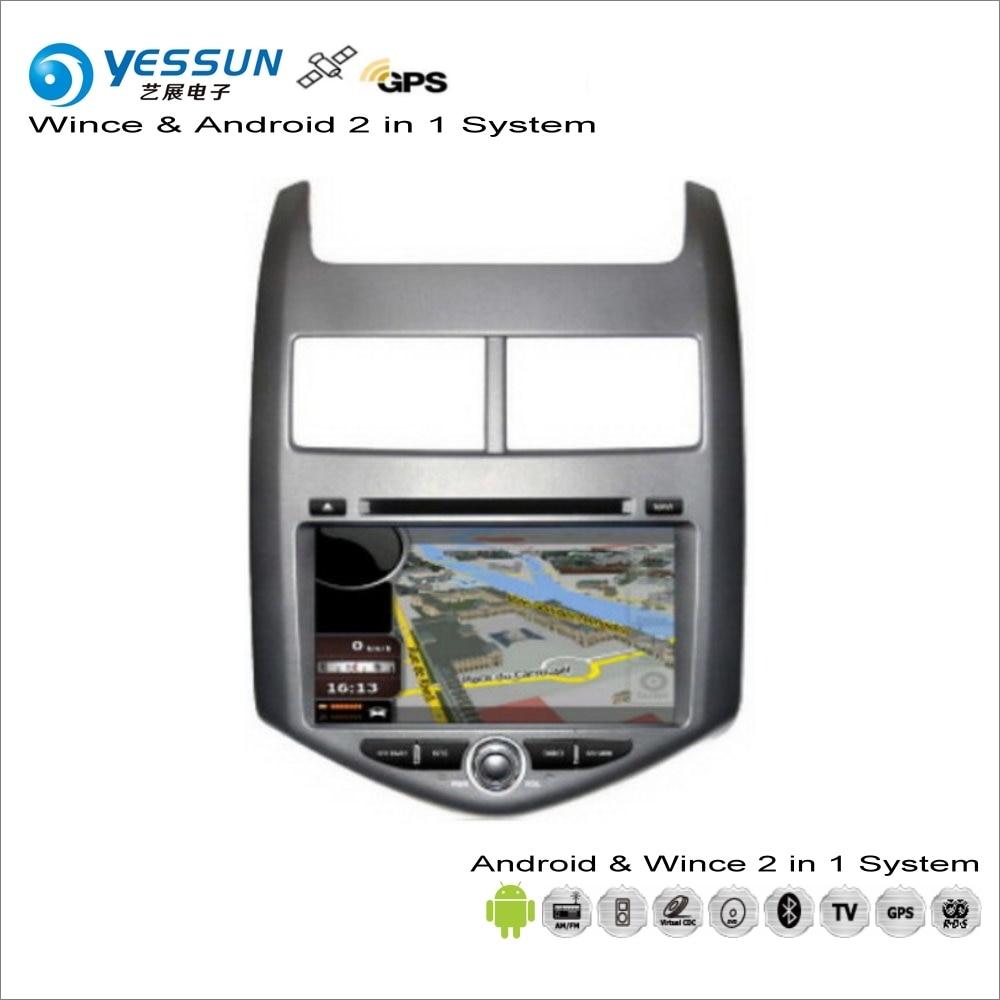 YESSUN pour Chevrolet Aveo/Sonic/pour Holden Barina-Android lecteur CD DVD multimédia Navigation GPS Navi Audio vidéo