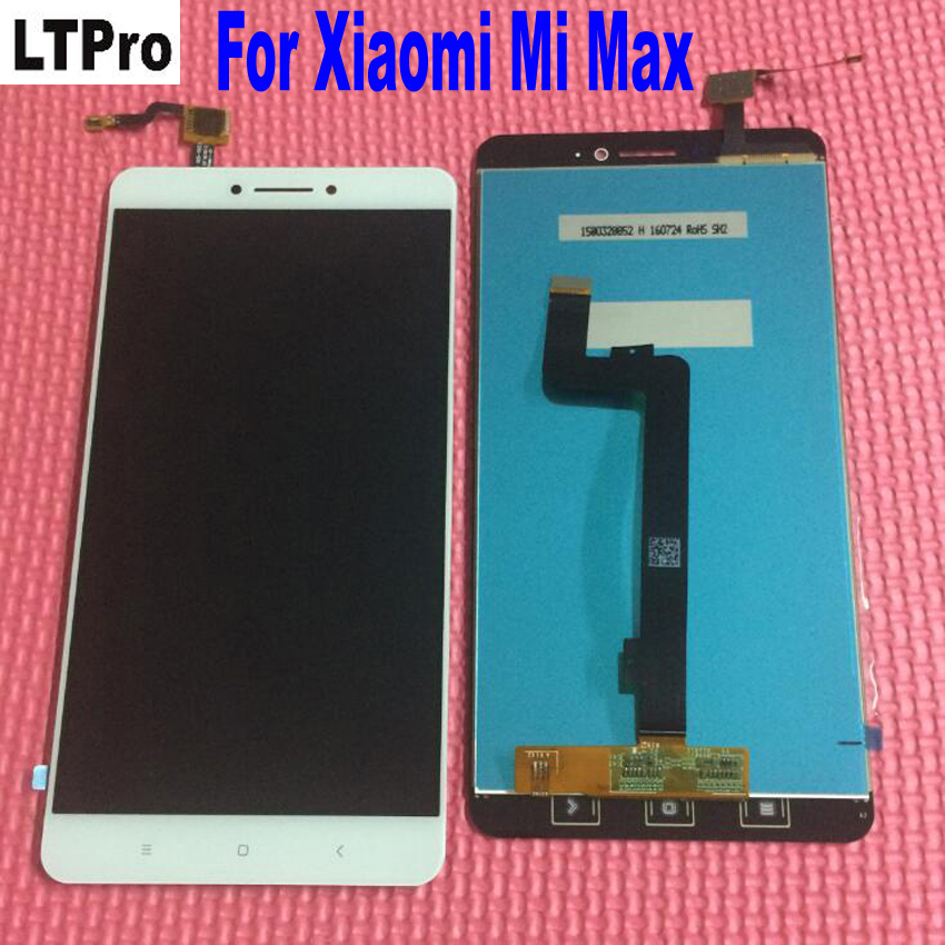LTPro High Quality Tested Working 6.44Inch LCD Touch Screen Digitizer Assembly For Xiaomi Mi Max Glass Panel Display Replacement