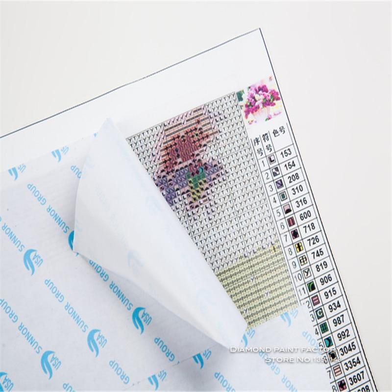 Ingyenes szállítás Új kézimunka DIY Gyémánt hímzés Festés - Művészet, kézművesség és varrás - Fénykép 4