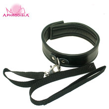 APHRODISIA 6Pcs/Set Sexy Black Color Pu Leather Bed Restraints Couples Sex Products Bondage Set Handcuffs Gag blindfold Ball Gag