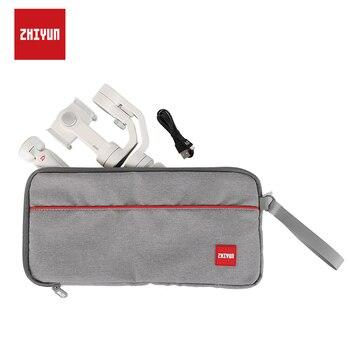 ZHIYUN Official Gimbal Portable Bag Soft Carrying Case for Zhiyun Smooth 4/3/Q Smartphone Stabilizer Crane M2 Handheld Gimbal handheld gimbal portable storage bag waterproof shoulder bags carrying case for osmo mobile 2 3 feiyu zhiyun