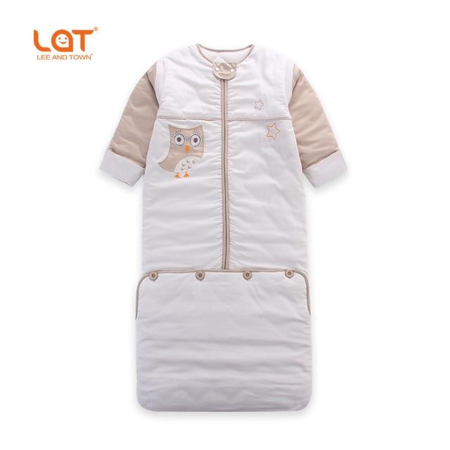 LAT Малыш 110 см Длина Зима Теплая Спальный Мешок SleepSack пеленать Толщина Обернуть Постельных Принадлежностей 2.5 Tog для 0-5 Лет унисекс