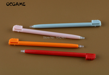 Lápiz táctil de pantalla táctil de plástico de colores al por mayor de OCGAME 10 Uds para Nintendo NDSL