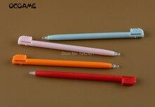 OCGAME 10 قطعة الجملة الألوان البلاستيك شاشة تعمل باللمس ستايلس القلم لنينتندو NDSL