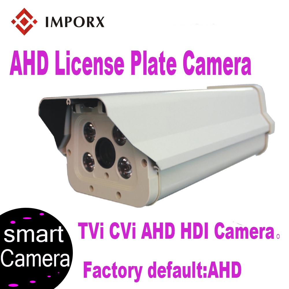 IMPORX 1080P 2MP IR LED Vehicle License Number Plate Recognition 6 22mm Varifocal Lens LPR AHD Camera For Highway Parking Lot in Surveillance Cameras from Security Protection