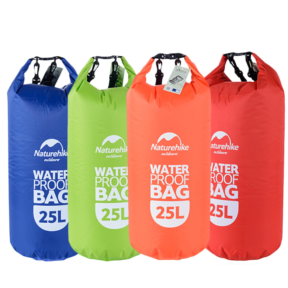 Aliexpress 25l Waterproof Polyester Fiber Pvc Boating Bag Drawstring Storage Stuff Sack Dry Outdoor Travel Whole From