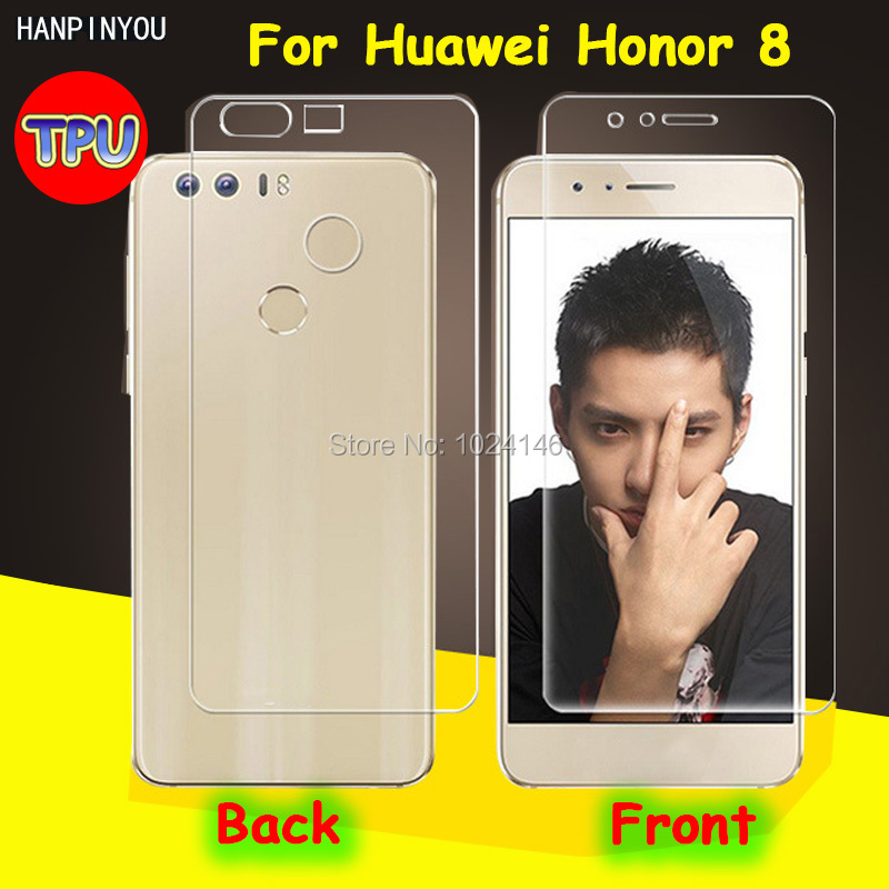 Front/Back Full Coverage Clear Soft TPU Film Screen Protector