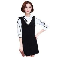 2135f2e218 2018 Nova Moda Elegante Plus Size Mulheres Se Vestem Ternos Primavera Verão  Two-piece Conjuntos