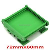 DIN Rail Mounting Carrier For 72mm X 60mm PCB Housing Bracket