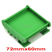 DIN Rail Mounting Carrier For 72mm X 60mm PCB Housing Bracket