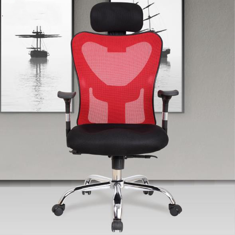 240312/Stereo thicker cushion/Household Office Chair /High quality PU leather/Computer Chair/Steel handrails/ 240335 computer chair household office chair ergonomic chair quality pu wheel 3d thick cushion high breathable mesh