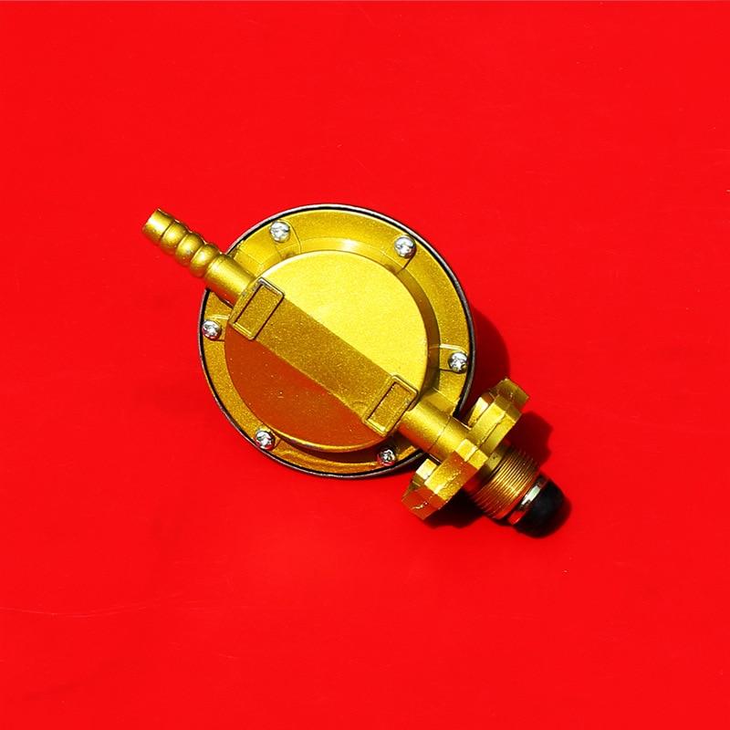 MENSI Low Pressure One Pound Propane Tank Gas Regulator Valve Adjustable Regu...
