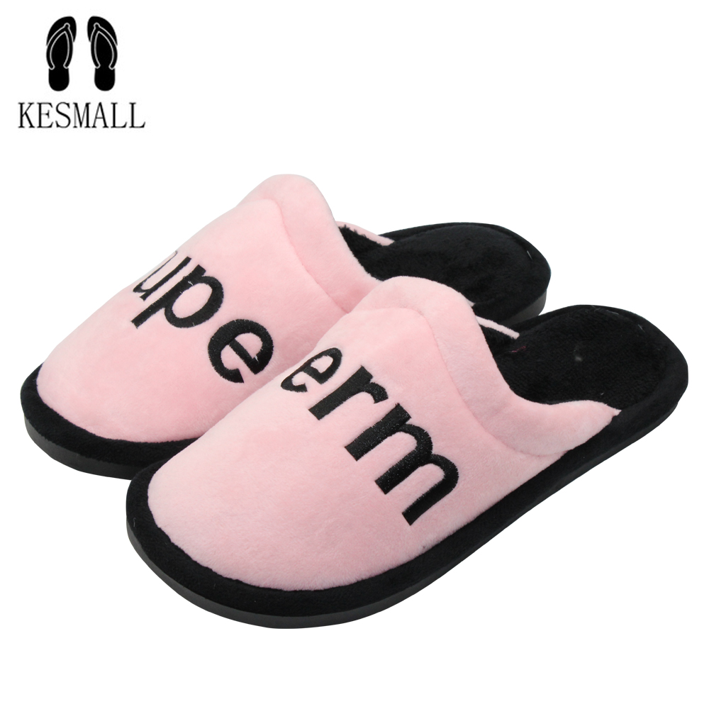 KESMALL Soft House Slippers Women Men Home Shoes Cute Bedroom Foot Warmer Japanese Indoor Slippers women Fur slippers Shoes S6 winter women slippers home warm soft fur slippers fashion cute shoes new anti slip home shoes foot warmer house slippers x1048