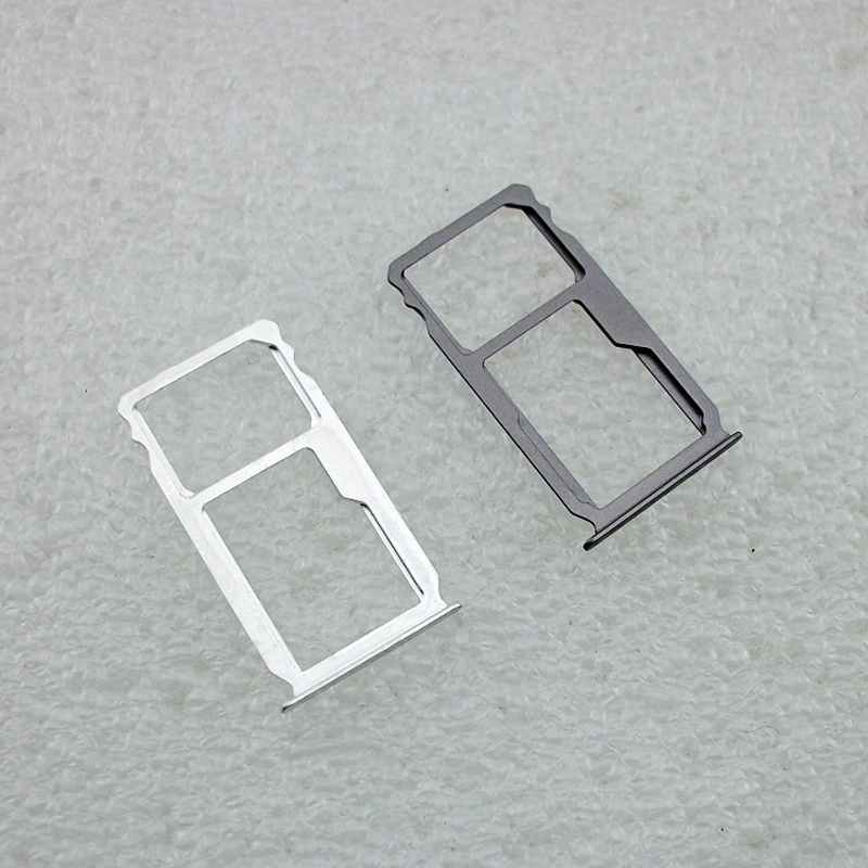 For Huawei Mate S SIM Card Tray Holder With Micro SD Card Tray Slot Holder Metal Parts