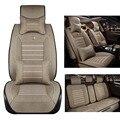 Linho tampa de assento do carro Para a Descoberta de Land Rover Sport freelander Gama Sport Evoque Defender acessórios do carro styling