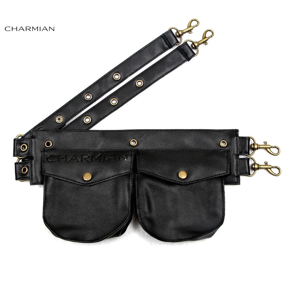 c028084936d US $15.17 31% OFF|Charmian Women's Vintage Steampunk Faux Leather  Detachable Pouch Belt Black Brown Corset Costume Accessories-in Bustiers &  Corsets ...