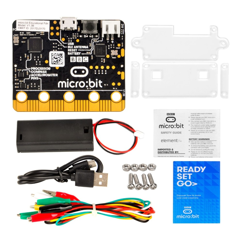 OSOYOO BBC Micro bit Basic kit learn programming for kids and beginners (not include 2*AA batteries)