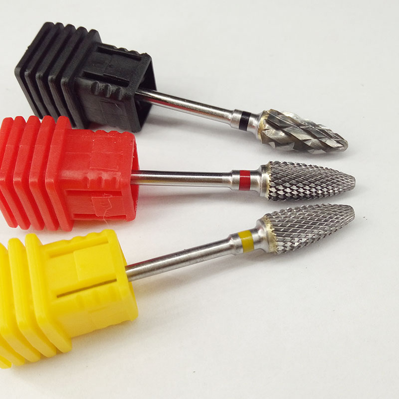 Hot 51mm Design 6.0 Flamme Bit Form Carbide Nail Drill Bit Elektrisk - Negle kunst - Foto 4