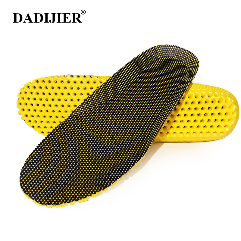Insoles for shoes cushions shock absorption breathable comfortable foot pain relieve shoe insoles for men and women 1 pair STT01