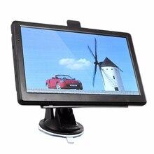 Unversal 7 дюймов HD Автомобильный GPS Навигации Навигатор СПУТНИКОВОЙ навигации Емкостный Экран FM 4 ГБ Грузовик GPS США Карты