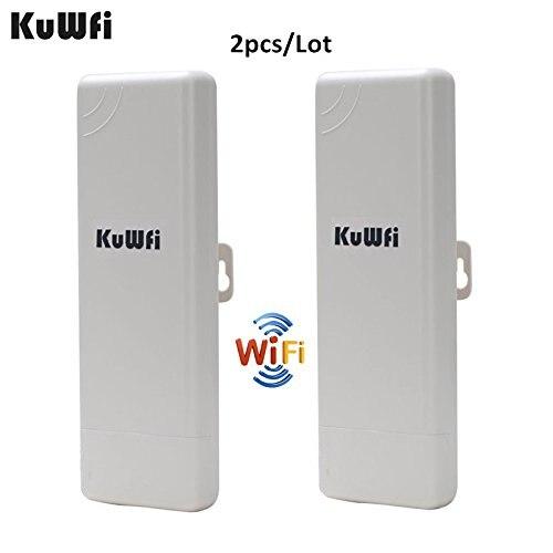 2 pcs Wifi Répéteur Extérieure CPE WIFI Routeur Wifi Extender 1000 mw 2 km Distance 150 Mbps Point D'accès AP routeur WDS WIFI Pont