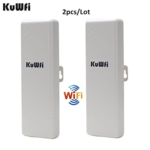 2Pcs Wifi Repeater Outdoor CPE WIFI Router Wifi Extender 1000mW 2KM Distance 150Mbps Access Point AP Router WDS WIFI Bridge