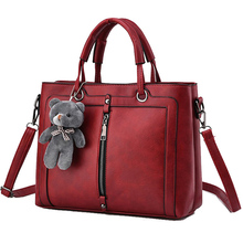 Bolsas Femininas Couro Pu Leather Handbags Designers Famous Brands Zipper Women Shoulder Bag Ladies Handbags Sac