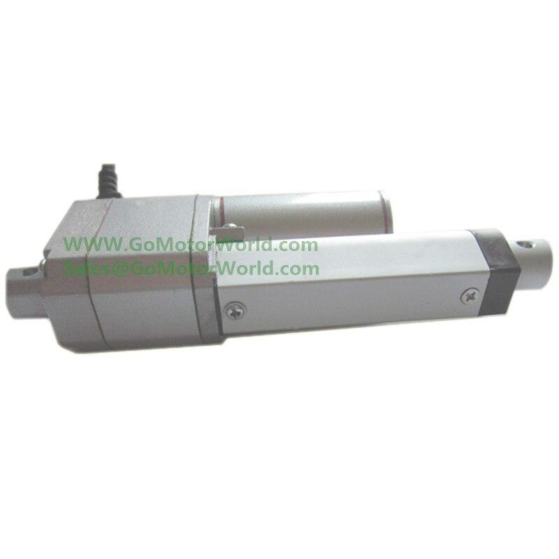 "4/"" Stroke 12V Electric Linear Actuator 99 Lbs Feedback Signal Potentiometer 10K"