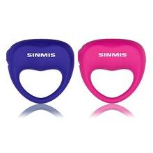 Ping Мощный Силиконовые вибрационный кольцо стимуляции для мужчин клитор массаж Водонепроницаемый Электрический мини секс-игрушки для женщин